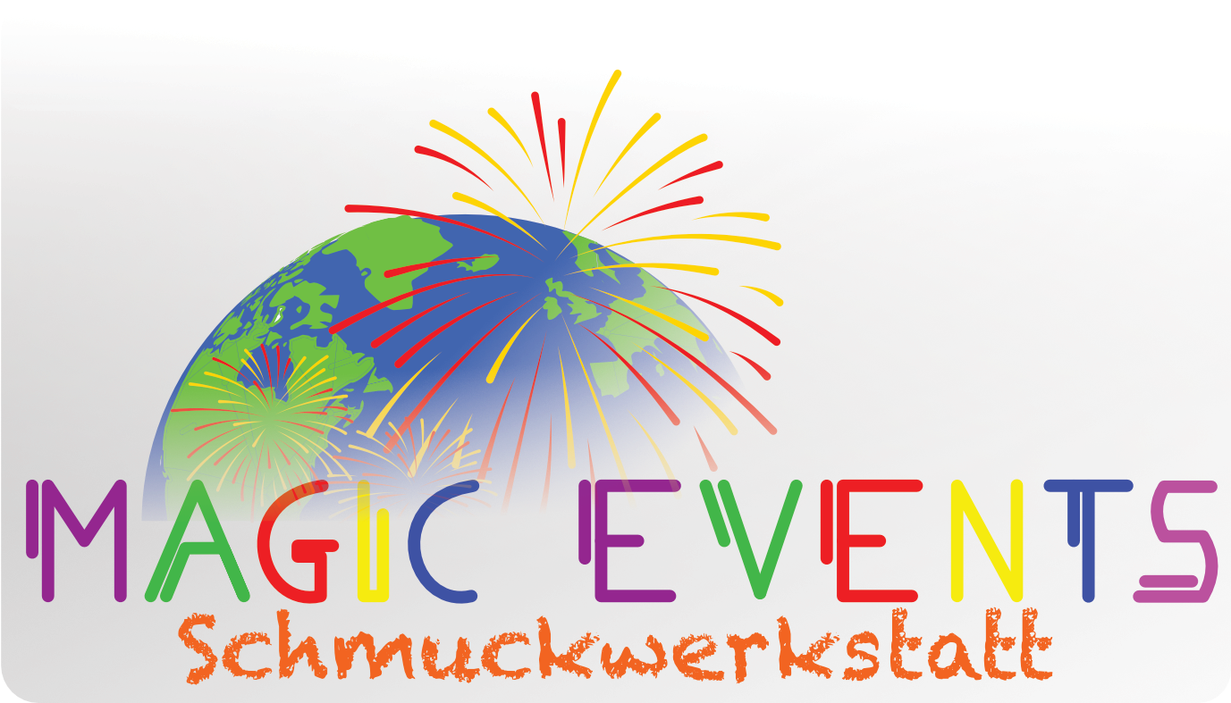 Magic Events Schmuckwerkstatt Logo white back