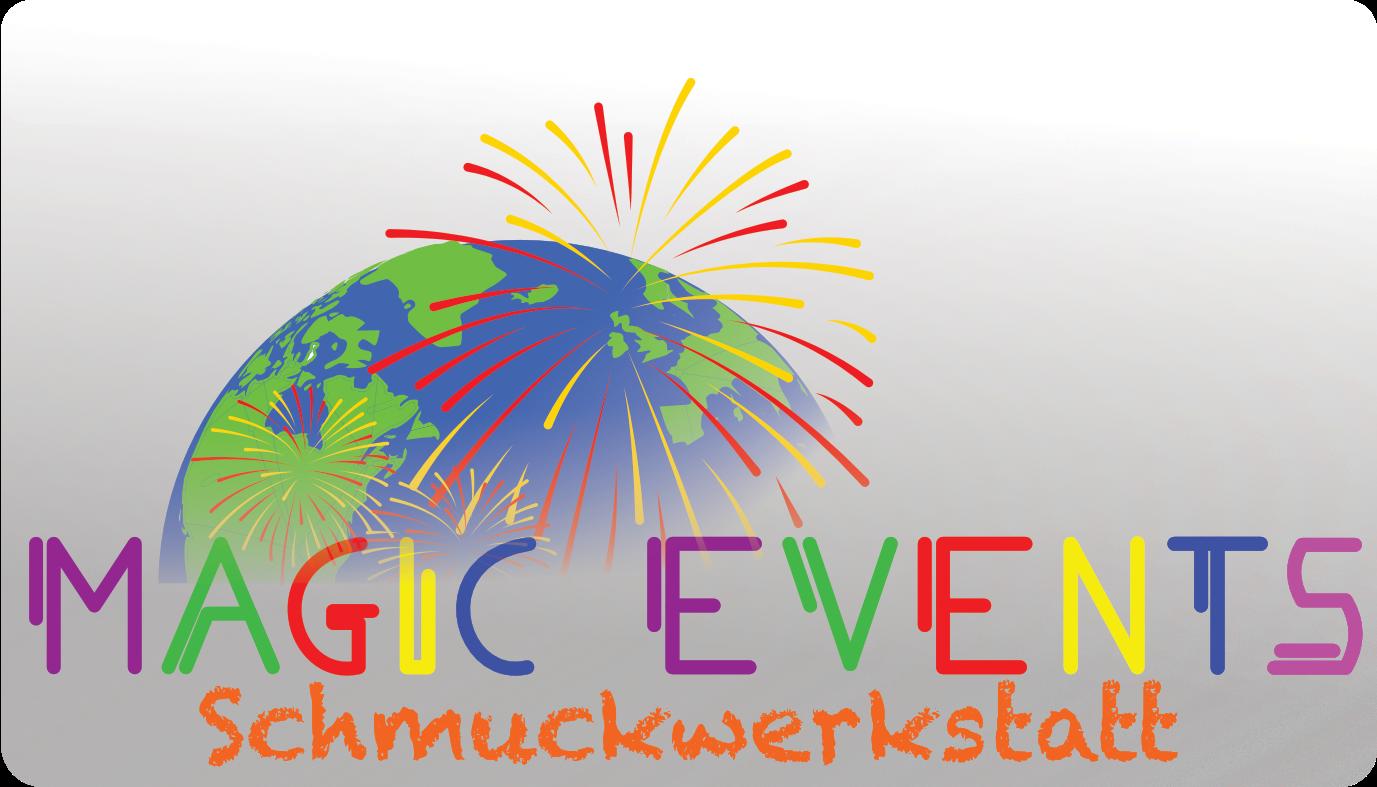 Magic Events Schmuckwerkstatt Logo white back